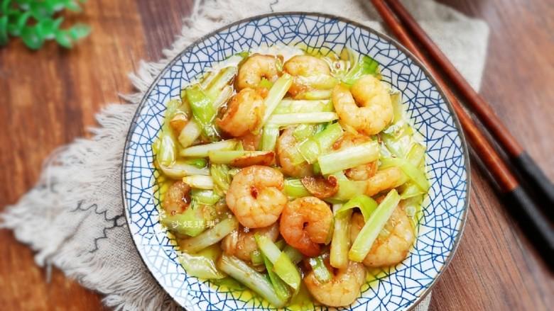 韭黄炒虾仁,好吃营养!