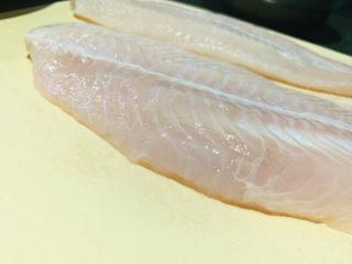 酸湯龍利魚,解凍;
