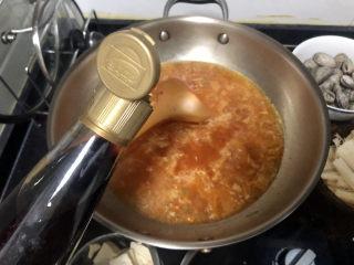 花蛤豆腐汤➕韩式花蛤豆腐汤,加入一汤匙味极鲜或生抽