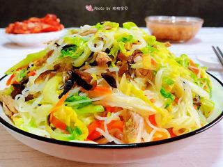 卷心菜炒粉絲