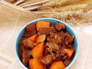 牛肉烧胡萝卜