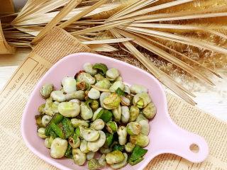 青椒燴蠶豆