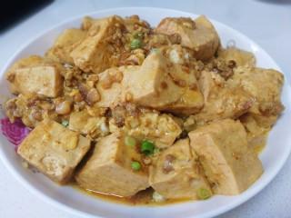 肉末醬豆腐