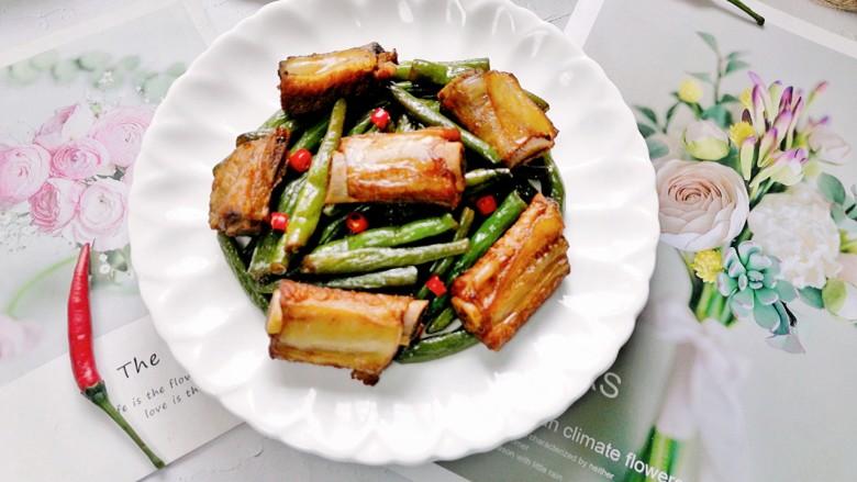 四季豆燒排骨