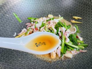 香辣魷魚須,一勺料酒