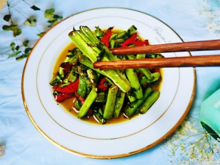 橄欖菜炒四季豆,橄欖菜炒四季豆第一次做,味道很不錯哦!