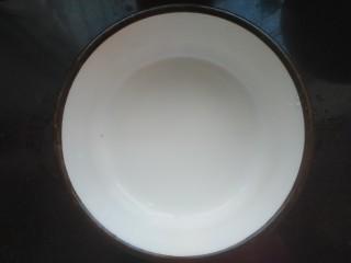 肉沫澆汁西葫蘆,淀粉加入適量清水調勻