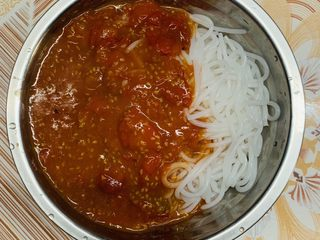 西红柿打卤粉