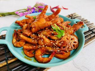 明虾鸡爪煲