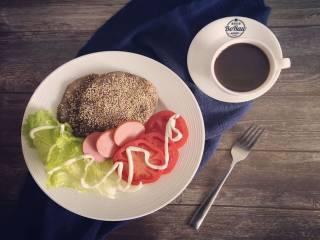 原创|燕麦定餐健身减脂薄饼