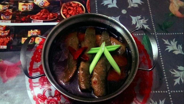 红烧泥鳅,美味的红烧鱼鳅。