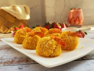 黃金土豆蝦球