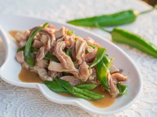 青椒炒豬肚