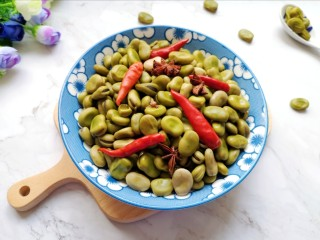 五香蚕豆,夏日小零食。