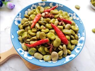 五香蚕豆,好吃到停不下来!