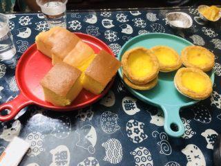 十寸古早蛋糕,当作早餐或者茶点非常不错!👍