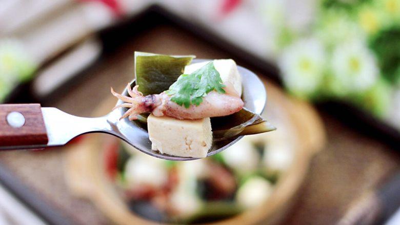 海带豆腐汤,我要开动了,吃上一口超级满足。
