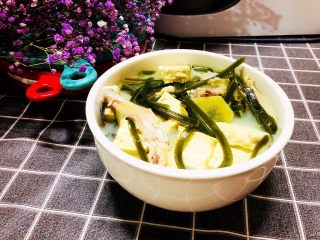海帶豆腐湯