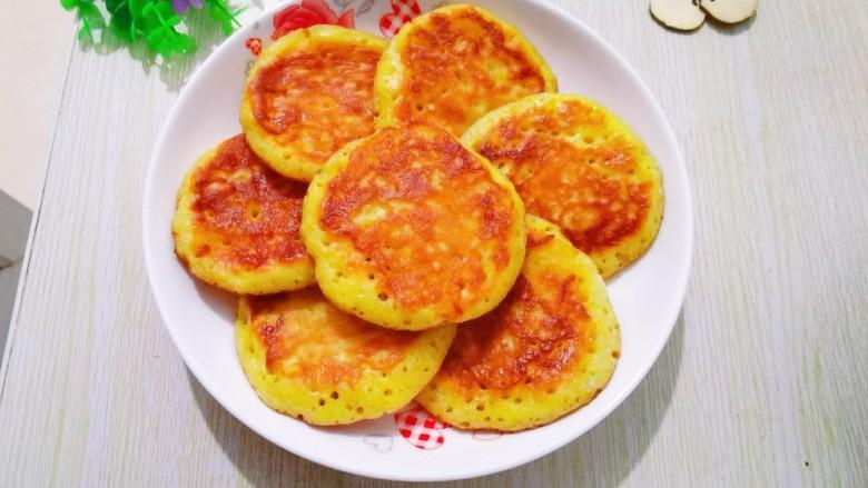 玉米饼,做好的玉米饼