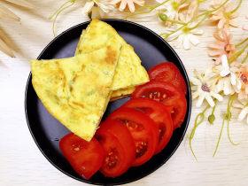 西葫蘆玉米雞蛋煎餅
