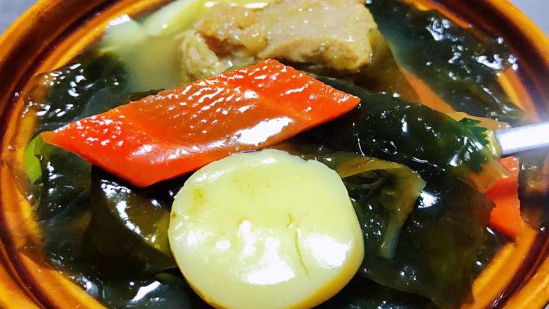 海带豆腐汤,美味食材入口好吃😋到爆有种停不下来的感觉