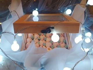 网红木质盒子蛋糕🎂