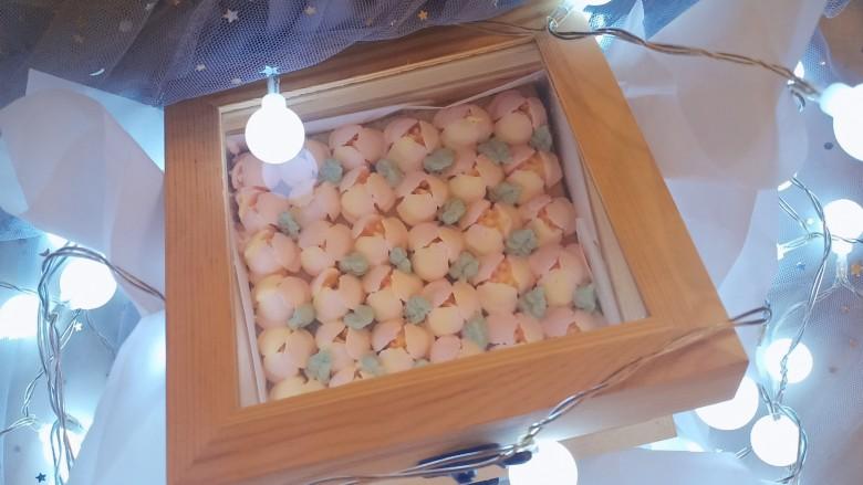 网红木质盒子蛋糕🎂,完成,什么节日都很适合