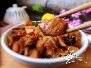 杏鮑菇燒雞塊