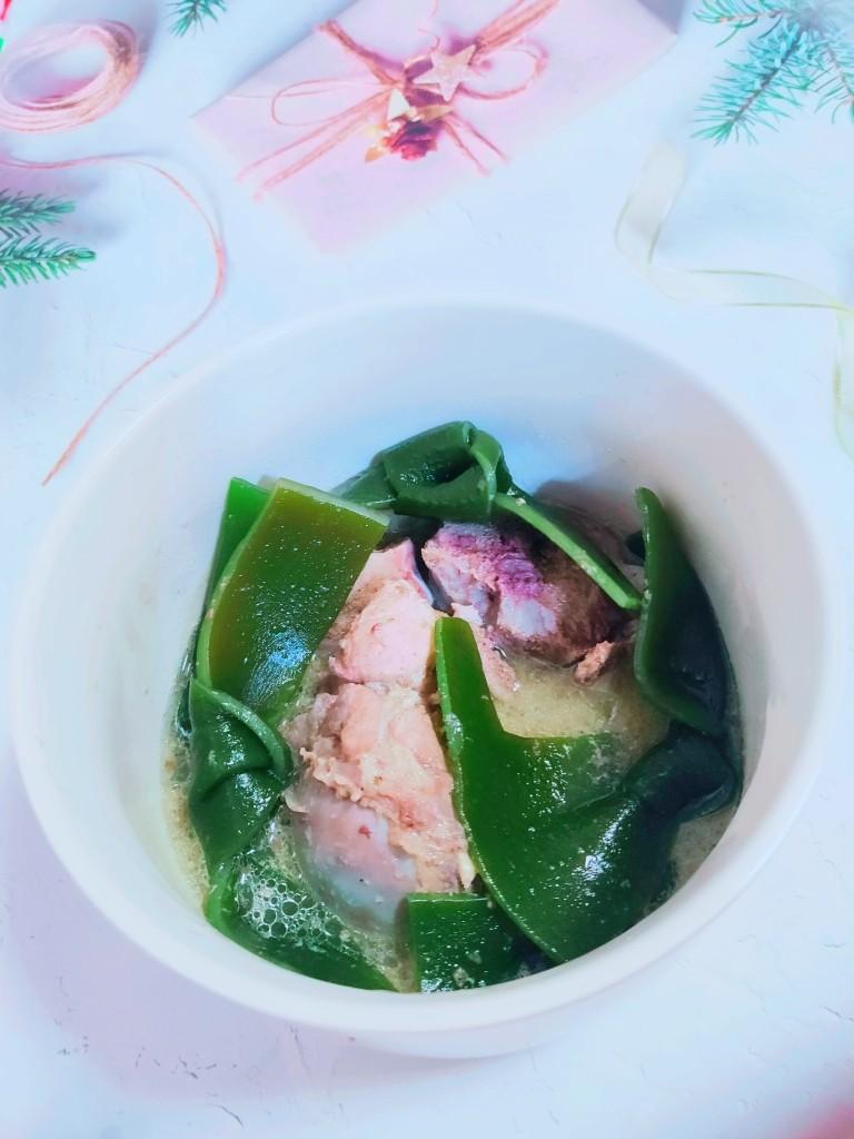 海带筒骨汤,开吃