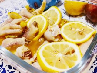 百香果柠檬鸡爪