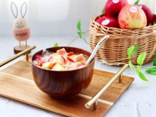 苹果银耳枸杞汤,成品