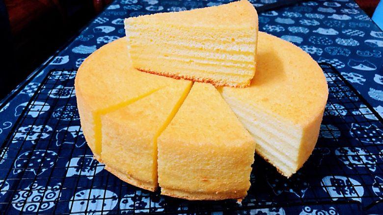 十寸戚风蛋糕(不开裂)