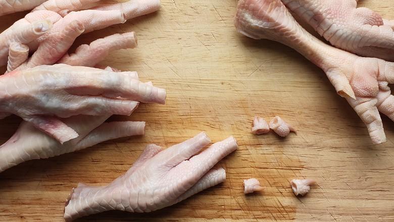 百香果柠檬鸡爪,去指甲