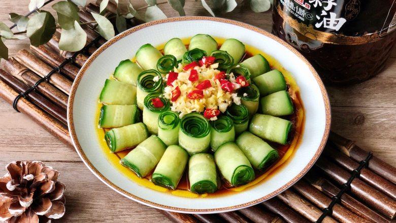 夏季C位凉菜,飘香爽脆的响油黄瓜