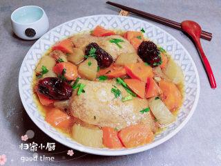 蘿卜燉鴨肉