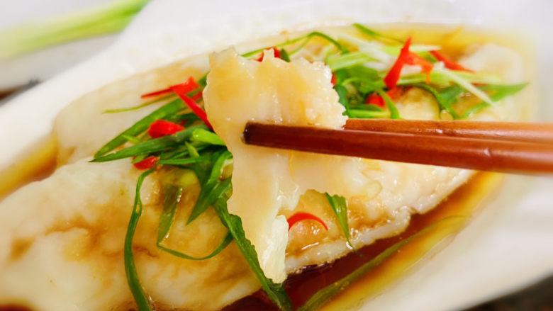 清蒸龙利鱼,清蒸龙利鱼,鱼肉细嫩,口感嫩滑