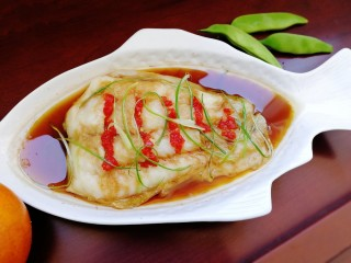 清蒸龍利魚