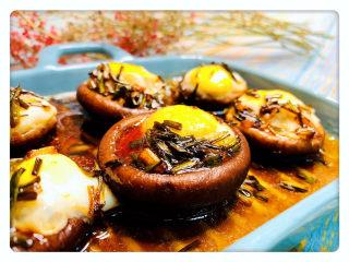 香菇鹌鹑蛋,香菇鹌鹑蛋,完成!
