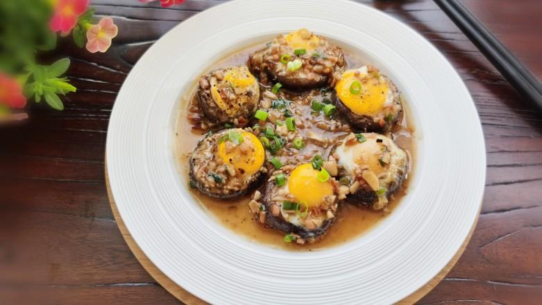 香菇鹌鹑蛋,喜欢的试试吧!