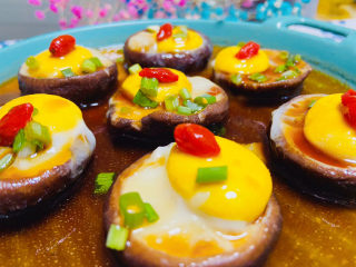 香菇鹌鹑蛋,香菇鹌鹑蛋成品图