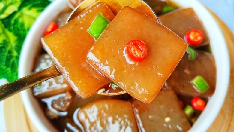红烧魔芋豆腐,无敌好吃。
