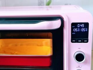 棉花蛋糕&不开裂不回缩方子,上下管135度,烤50分钟。(烤箱温度及时间仅供参考)
