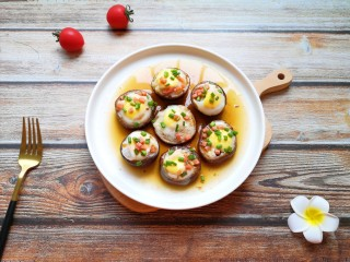 香菇鹌鹑蛋,味道好极了!