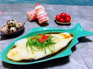 清蒸龙利鱼,精致美味的清蒸龙利鱼看着就有食欲