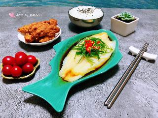 清蒸龙利鱼,水果和肉肉是我每一餐不可缺少的
