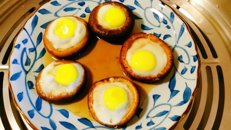 香菇鹌鹑蛋,时间到