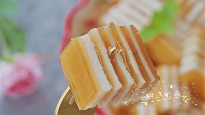 椰汁千层糕,简单四种材料,一次就学会!
