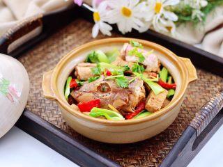 红蟹鱼酱焖冻豆腐