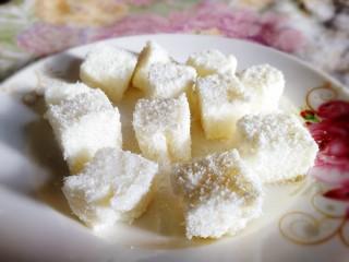 椰奶小方【零失敗】,健康小食。