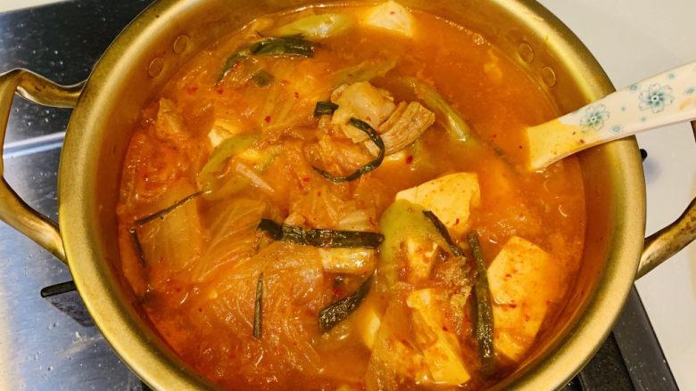 韓式泡菜豆腐湯